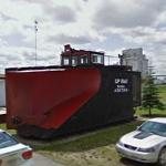 Canadian Pacific Railway Snowplow Locomotive #400798 (StreetView)