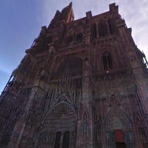 Strasbourg Cathedral (StreetView)