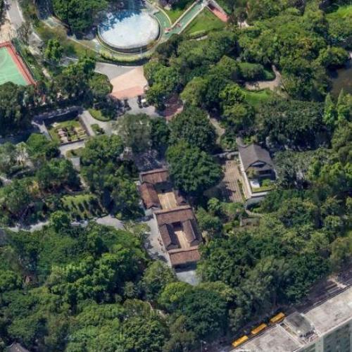Kowloon Walled City in Hong Kong, Hong Kong (Google Maps) on berlin wall map, ma on shan map, lantau island map, kowloon park map, walled city nuremberg map, kowloon station map, melbourne map, aberdeen harbour map, kai tak airport map, fujian map, macau map, city park map, utopia map, shanghai map, zhejiang map, lan kwai fong map, hong kong map, guangdong province map, ningbo map, falklands war map,