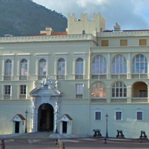 Prince's Palace of Monaco (StreetView)