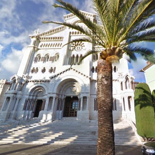 Monaco Cathedral (StreetView)