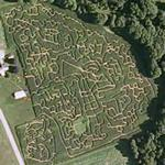 Hathaway Farm Corn Maze (Google Maps)