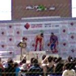 Autopolis podium ceremony (StreetView)
