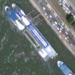 Danube River cruise ships (Google Maps)