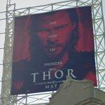 Thor movie ad (StreetView)