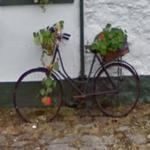 Old bicycle (StreetView)