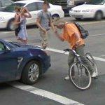 Almost hit? (StreetView)