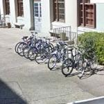 Lots of bicycles (StreetView)