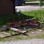 Railroad bicycles (StreetView)