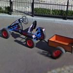 Quadracycle and cargo trailer