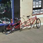 Tandem bike (StreetView)
