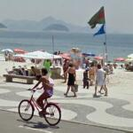 Cycling in Rio (StreetView)
