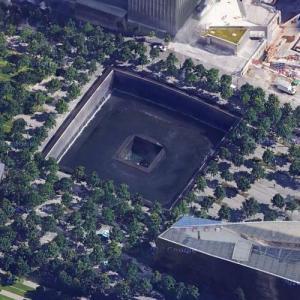 World Trade Center Site (Google Maps)