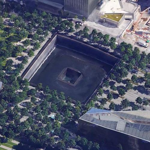 World Trade Center Site (Google Maps)