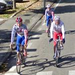 Cycling team (StreetView)