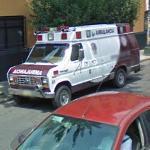 Ford van Ambulance (StreetView)