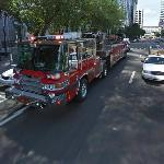 Tampa Fire and Ambulance in action (StreetView)