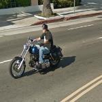 Motorcyclist (StreetView)