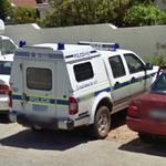 Police van (StreetView)