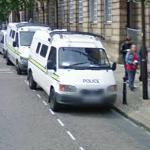 Wakefield Police van and Police video van (StreetView)