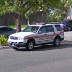 Miami Police Rescue car (StreetView)