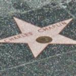 Charlie Chaplin's hollywood star (StreetView)