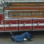 Fire truck maintenance (StreetView)