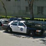 Cop car (StreetView)