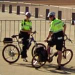 Police bike riders (StreetView)
