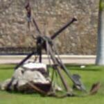 Pirate ship anchor and defensive wall (StreetView)