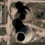 Arad coal fired power plant (Google Maps)
