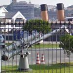 Naval anti aircraft gun (StreetView)