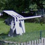 QF 12 pounder 12 cwt naval gun (StreetView)