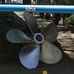 Ship propeller (StreetView)