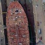 Taking Apart Ship (Google Maps)