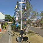 International maritime signal flags & propeller (StreetView)