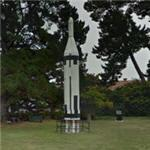 Polaris A-1 missile at Alden Park on Mare Island (StreetView)