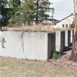 WWII air raid shelters at Mare Island (StreetView)