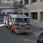 Jacksonville Fire truck (StreetView)