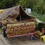 Pineapples for sale (StreetView)