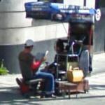 Shoeshine stand (StreetView)