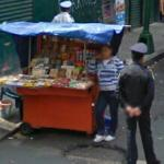 Candy seller (StreetView)