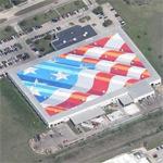 World's largest flag (Google Maps)