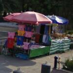 Sidewalk merchandise (StreetView)
