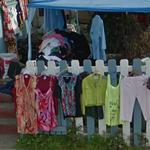 Clothes for sale (StreetView)