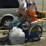 Vendor's tricycle (StreetView)