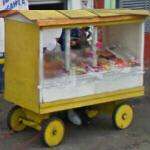 Vendor's wagon (StreetView)