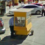 Odd Yellow Cart (StreetView)