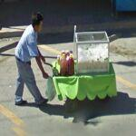 Push Cart for juices (StreetView)