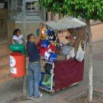 Lucha libre mask cart (StreetView)